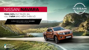 Ưu đãi đặc biệt cho khách hàng mua xe Nissan Navara A-IVI trong tháng 3