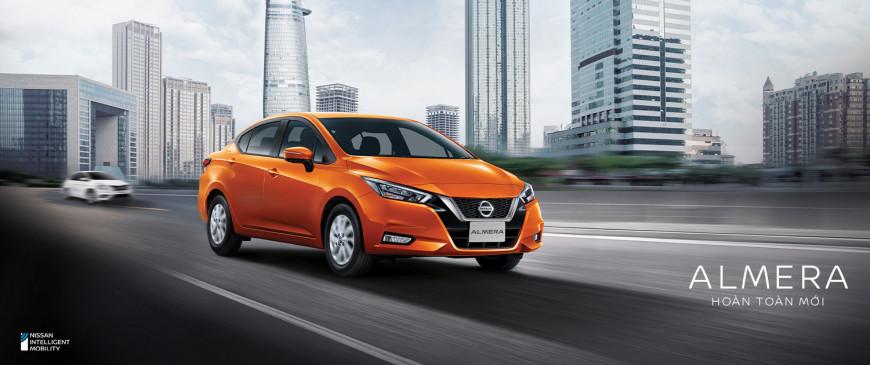Nissan Almera hoàn toàn mới chính thức ra mắt tại thị trường Việt Nam – Bứt phá nhờ công nghệ